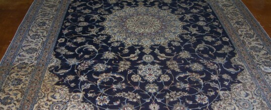 Silk Rug Stain Removal Before